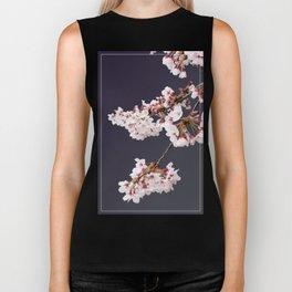 Cherry Blossoms (illustration) Biker Tank