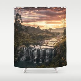 Fire & Water Shower Curtain
