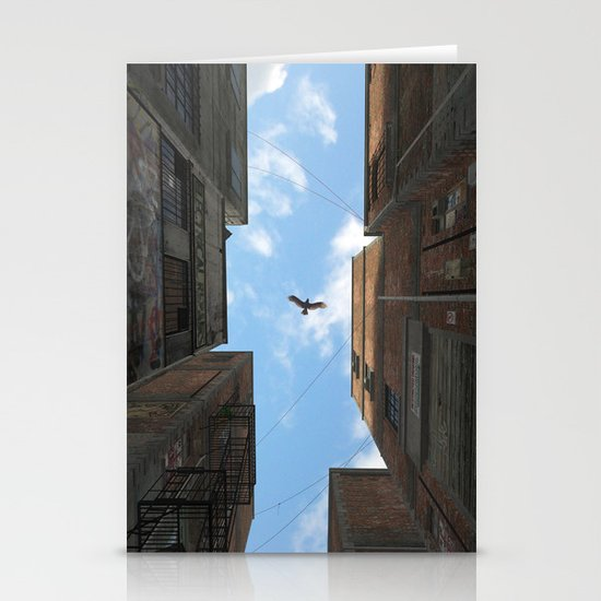 Afternoon Alley Stationery Cards
