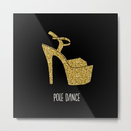 Gold dreams Metal Print