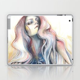 """""""Great Void"""" Watercolour and Gouache Surreal Painting Laptop & iPad Skin"""