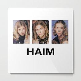 Haim Merch Metal Print