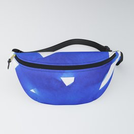 Superwatercolor Blue Fanny Pack