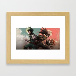 Boku No Hero Academia v1 Framed Art Print