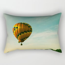 Touching The Tree Tops Rectangular Pillow