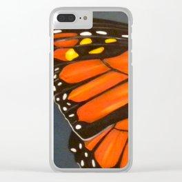 Monarch - Cloudburst Clear iPhone Case