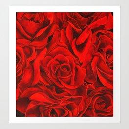Roses 2 Art Print