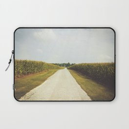 Indiana Corn Field Summers Laptop Sleeve