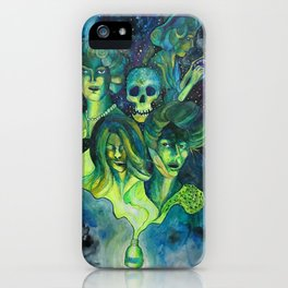 The ghost girls iPhone Case