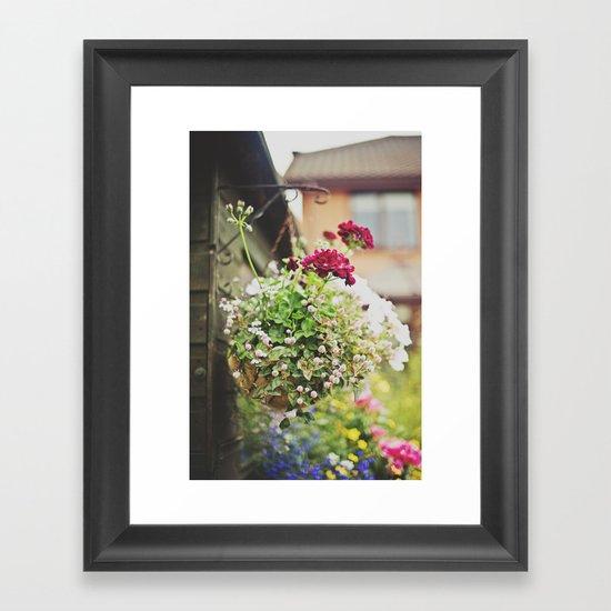 flowers... Framed Art Print