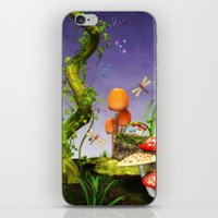 fairytale iPhone & iPod Skins featuring fairytale by Ancello