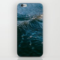 gravity iPhone & iPod Skins featuring Gravity by Leah Flores