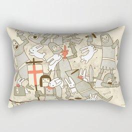 Bad Tempered Rodents Rectangular Pillow