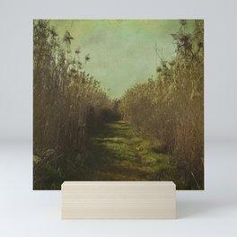 The path into the unknown Mini Art Print