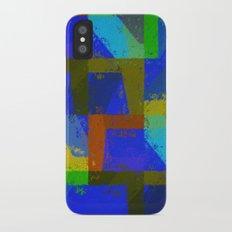 Colorful Truth. Blue. iPhone X Slim Case