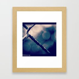 Minimalism Framed Art Print