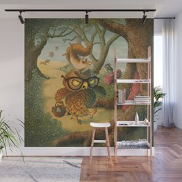 Ode To Beatrix Potter Wall Mural