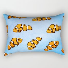 Clownfish Pattern Rectangular Pillow