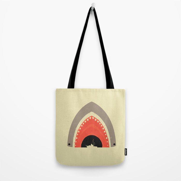 Great White Bite Tote Bag