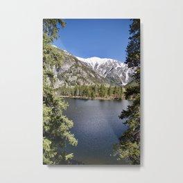 Lake in Colorado Metal Print