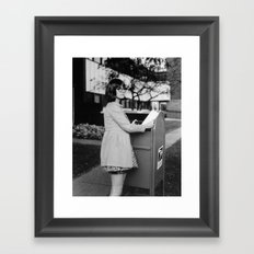 Letter Mail Framed Art Print