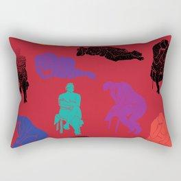 Figures Rectangular Pillow
