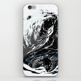 shark beep ying iPhone Skin