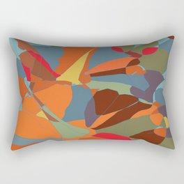 Abstract 2 from autumn colours and pumpkin Rectangular Pillow