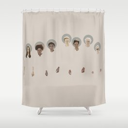 When the Greendale Saints go marching in Shower Curtain