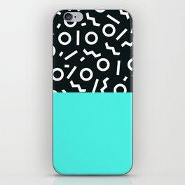 Memphis pattern 48 iPhone Skin