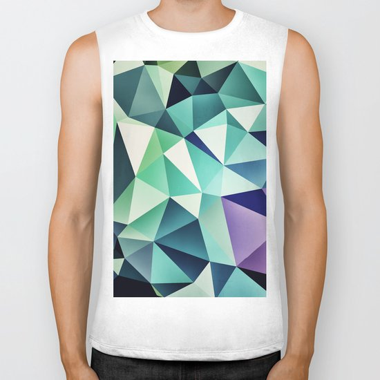 :: digital pattern :: Biker Tank