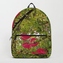 Touch of red Backpack