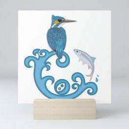 Kingfisher Mini Art Print