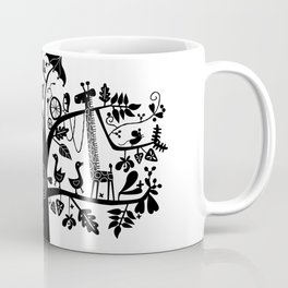 :) animals on tree Coffee Mug
