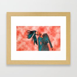 Red Cloud vs KP Framed Art Print