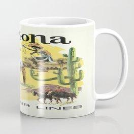 Vintage poster - Arizona Coffee Mug