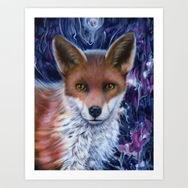 Fox Spirit Art Print