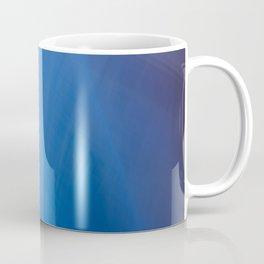Blue Folds Coffee Mug
