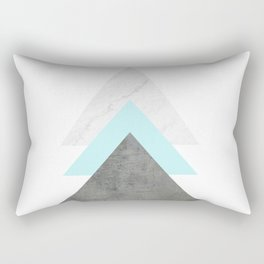Arrows Collage Rectangular Pillow