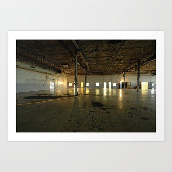 Factory Floor Art Print