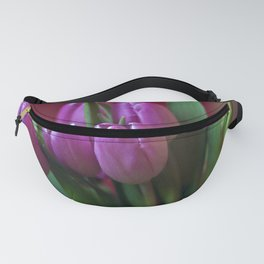 Pink Tulip Poetry Fanny Pack