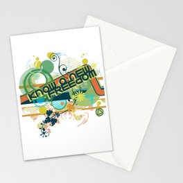 Know a New Freedom Stationery Cards