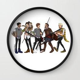 A Hogwarts AU Wall Clock