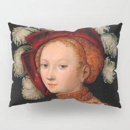 "Lucas Cranach the Elder ""Judith with the Head of Holofernes"" 3. Pillow Sham"