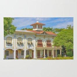 Historic Buildings, Parque Historico, Guayaquil, Ecuador Rug