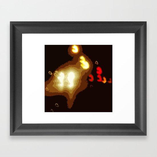 Highway Blues Framed Art Print