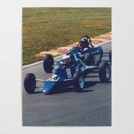 Classic Single Seater Racing Poster