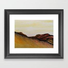 Mountain & Desert Framed Art Print