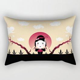 Geisha2 Rectangular Pillow