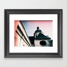 Paris: Eglise Saint Paul Saint Louis Framed Art Print